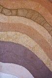 Sporchi gli strati e, i sui colori e strutture Fotografia Stock