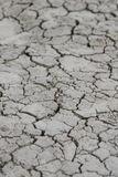 Sporcizia asciutta ed incrinata del deserto Fotografia Stock Libera da Diritti