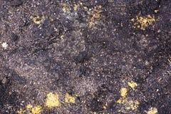 Sporcizia e suolo, sporcizia brunastra Immagini Stock