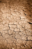 Sporcizia o fango incrinata secca immagini stock