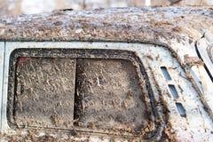 Sporcizia sulle automobili SUV immagini stock libere da diritti