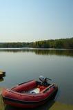Sporco e lago a trentham Fotografia Stock