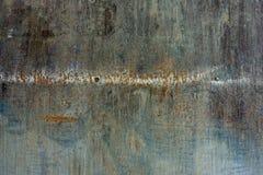 Sporco strutturato di alluminio dello strato Fotografia Stock