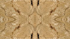 Sporen van besnoeiingen op een gestileerde boomstam voor decoratie stock afbeelding