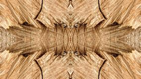Sporen van besnoeiingen op een gestileerde boomstam voor decoratie royalty-vrije stock afbeelding