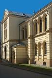 Sporen van Joodse Warshau - Nozyk-Synagoge royalty-vrije stock afbeeldingen