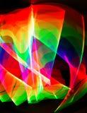 Sporen van licht Royalty-vrije Stock Foto's