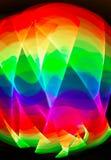 Sporen van licht Royalty-vrije Stock Foto