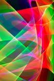 Sporen van licht Stock Afbeeldingen