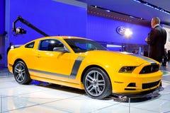 Sporgenza 2013 del mustang del Ford 302 Immagini Stock Libere da Diritti