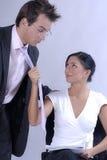 Sporgenza di seduzione Fotografie Stock Libere da Diritti