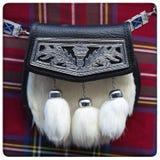 Sporran scozzese fotografia stock libera da diritti
