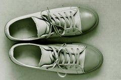 Sportów butów zbliżenie Obraz Royalty Free