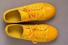 Sportów butów zbliżenie Zdjęcia Royalty Free