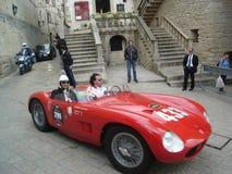 Sportów samochody na ulicie San Marino, Włochy Zdjęcia Royalty Free