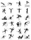 sportów ustaleni symbole obrazy royalty free