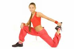 Sportübungen lizenzfreie stockbilder