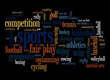 Sport Fotografia Stock