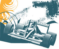 Sport 51. Simple illustration for car rally, need for speed rally Royalty Free Stock Image