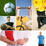 Sport. Active concept made from my photos great for your art design royalty free stock photography