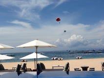 Sport acquatici al DUA Bali di Nusa Fotografia Stock