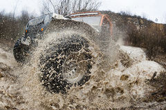 Sport Action Race Offroad Royalty Free Stock Image