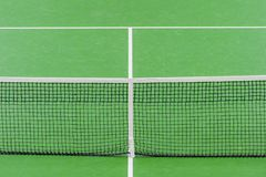 Sport active lifestyle concept. Closeup net for a tennis stock image