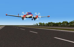 Sport aircraft Royalty Free Stock Images