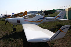 Sport aircraft Aerospool Dynamic WT9 Royalty Free Stock Photo