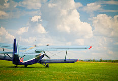 Sport airplane Royalty Free Stock Image