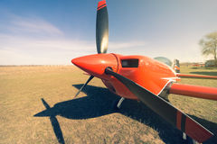 Sport airplane . Royalty Free Stock Photography