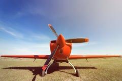 Sport airplane . Stock Photos