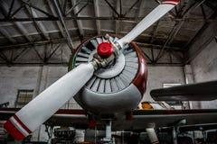 Sport airplane propeller Royalty Free Stock Photos