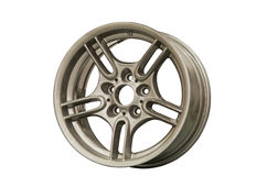 Sport alloy rims Stock Image