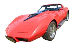 Sport-amerikanisches Auto 70., Weinlese Stockbild