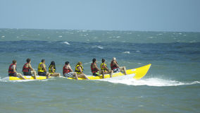 Sport aquatique de banane Photographie stock