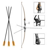 Sport archery bow and arrow Stock Images