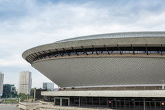 Sport arena in Katowice called Spodek, Silesia Stock Image