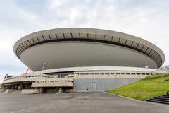 Sport arena in Katowice called Spodek, Silesia Stock Photos