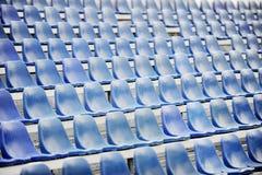 Sport arena after rain Stock Image