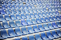 Sport arena after rain Royalty Free Stock Photography