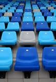 Sport arena seat Stock Photo