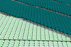 Sport arena seat Stock Images