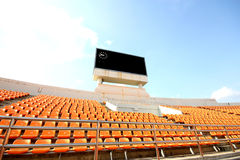 Sport arena seats Stock Images