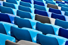 Sport arena with seats Stock Image