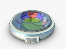 Sport arena. stadium 3d illustration Royalty Free Stock Images
