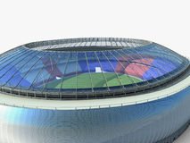 Sport arena. stadium 3d illustration Royalty Free Stock Photos