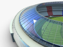 Sport arena. stadium 3d illustration Stock Photos