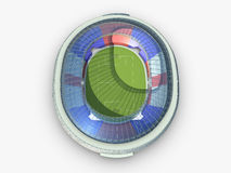 Sport arena. stadium 3d illustration Royalty Free Stock Photography