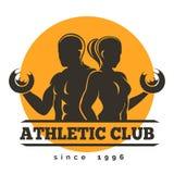 Sport Athletic Club Emblem Stock Photos